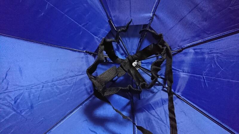 かぶる傘-裏から