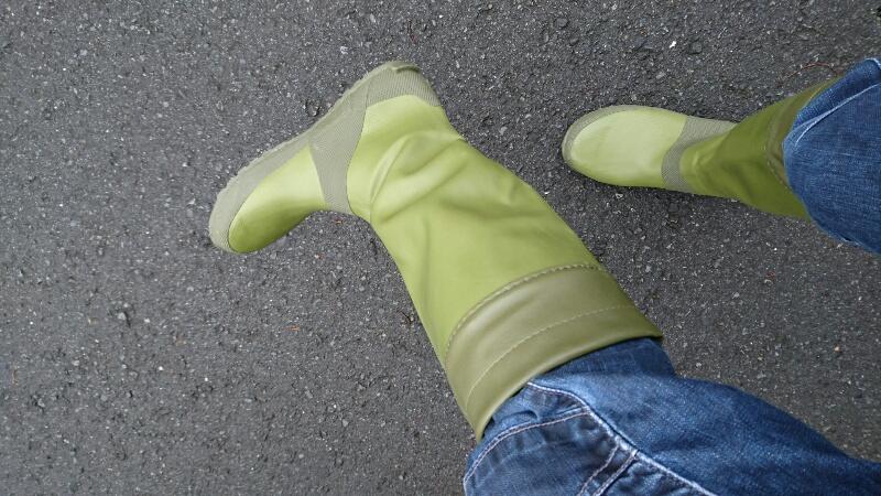 Fieldoorのレインブーツを履いてみた