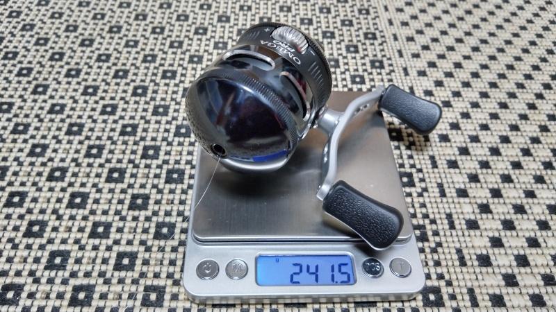 ゼブコ オメガプロZ02 重量測定