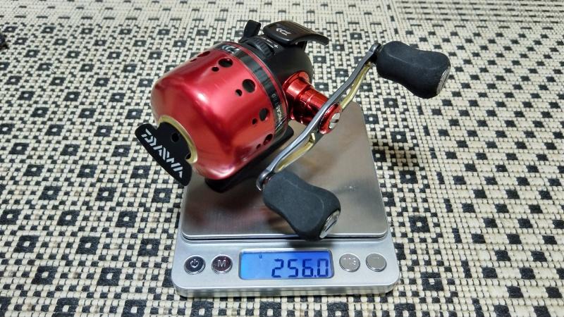 スピンキャスト80_重量測定