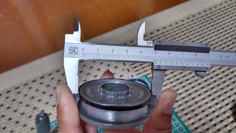 ゼブコ33プラチナのスプール径