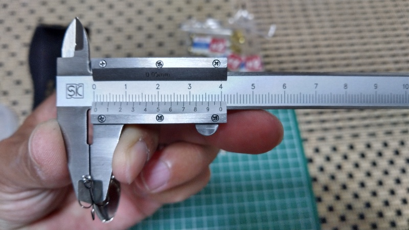 AR-Sのワイヤー径測定