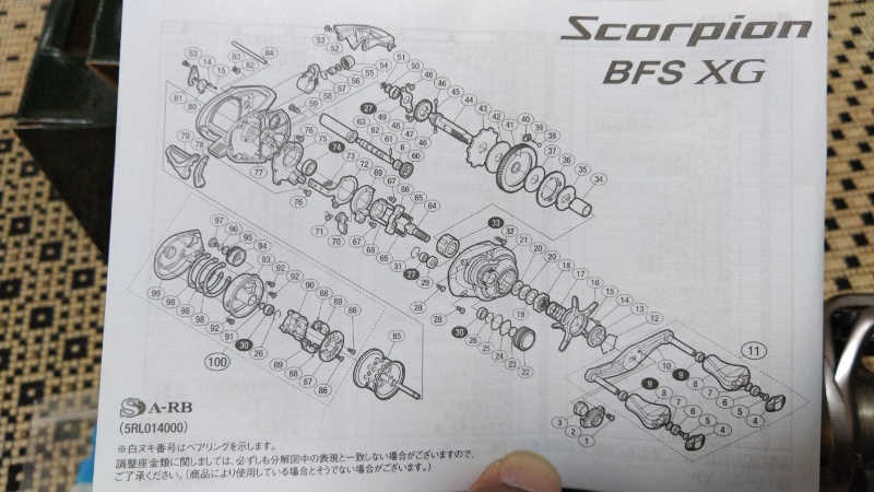 スコーピオンBFS 展開図