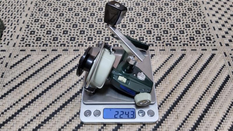 カーディナル33の重量測定