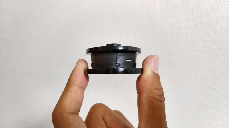 カーディナル33用IOSエコノマイザーの取り付け時の隙間を閉じた状態