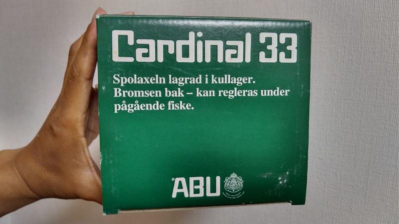 カーディナル33 箱(上から)