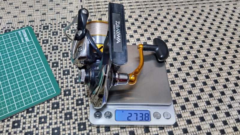 レブロス2506の重量